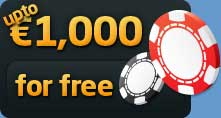 Get up to €1,000 FREE!